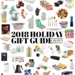 2018 Holiday Gift Guide for everyone who loves to cook and eat!
