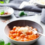 One-Pot Gnocchi with Vodka Sauce - Easy weeknight dinner recipe idea!