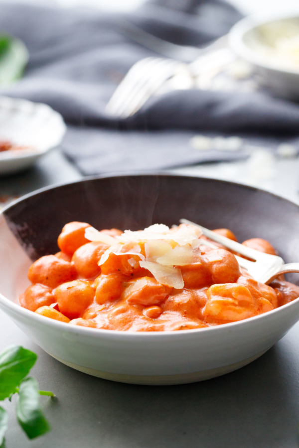 One-Pot Gnocchi with Velvety Vodka Sauce