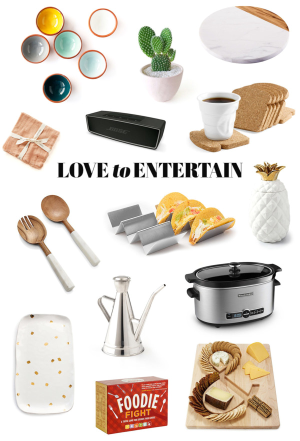 2018 Holiday Gift Guide - Love to Entertain