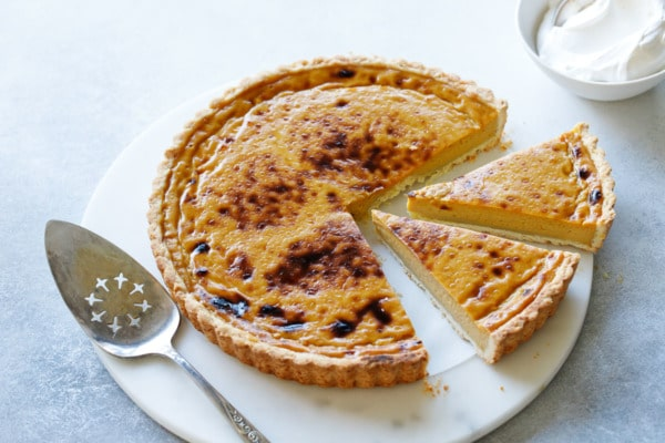 Pumpkin Custard Tart