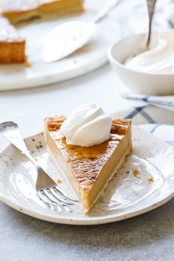 Pumpkin Custard Tart Recipe for Thanksgiving