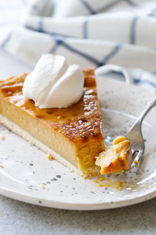 Make this Pumpkin Custard Tart Recipe this Thanksgiving!