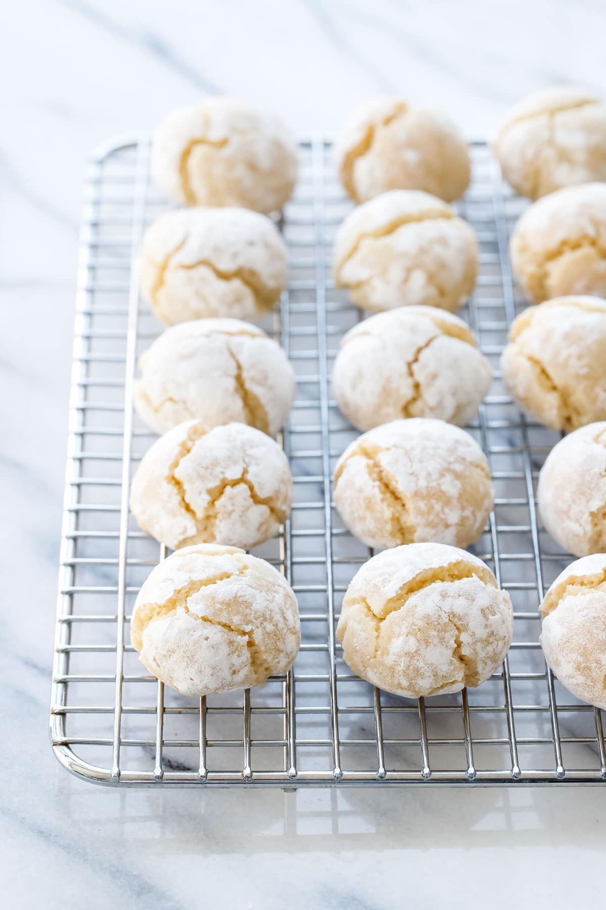 Soft Amaretti Cookies Love And Olive Oil