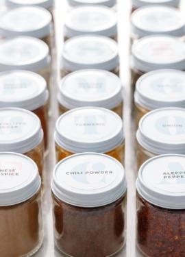 FREE Printable Spice Jar Labels (plus tips & tricks for spice organization)