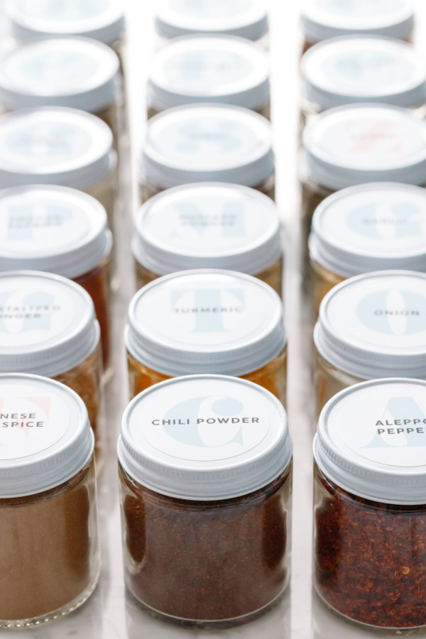 picture about Printable Spice Jar Labels named In opposition to Allspice in direction of Zaatar: Spice Business Pointers Insider secrets