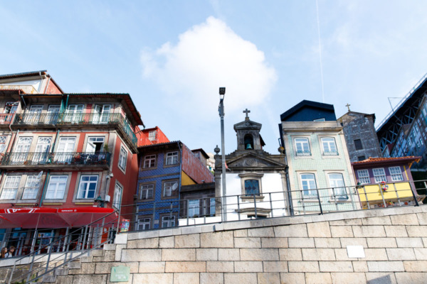 Buildings along the river, Porto, Portugal