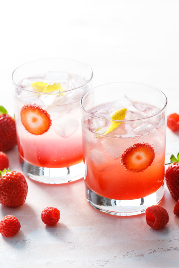Fruit & Vinegar Shrub Mocktail Recipe