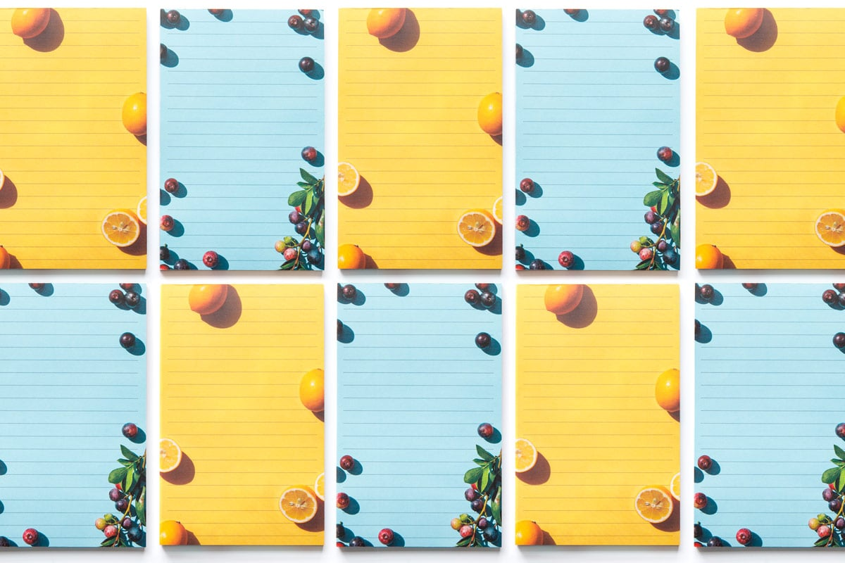 Fruit Notepads