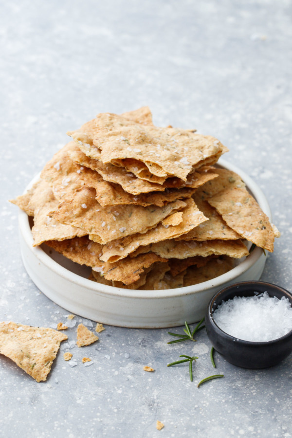 Herbs de Provence Sourdough Crackers Recipe