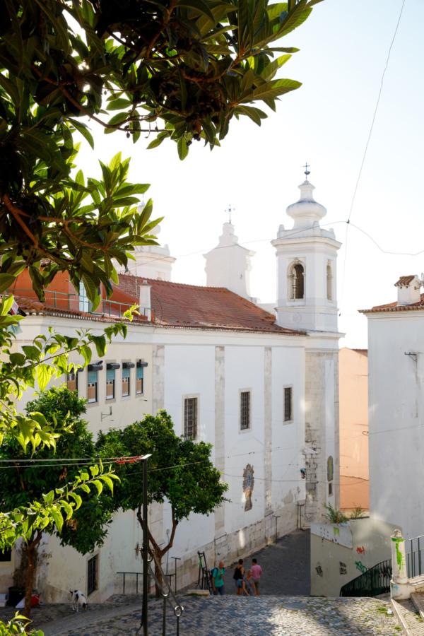 Igreja de São Miguel church in Lisbon, Portugal
