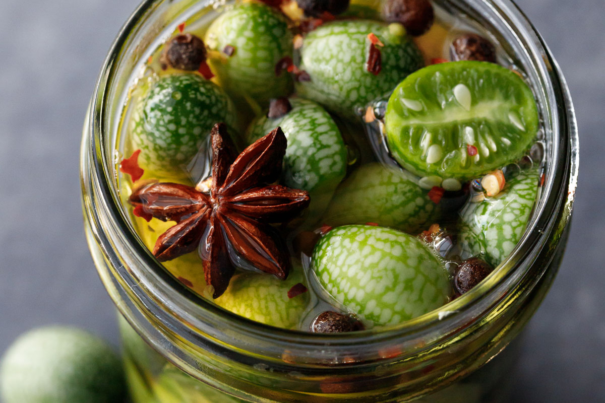 Cucamelon Pickles