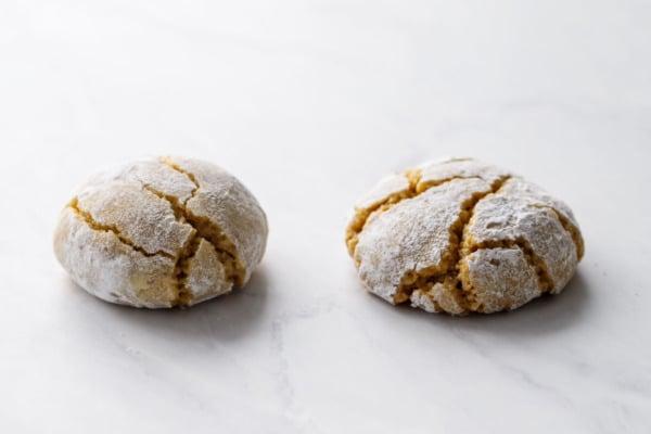 50/50 Almond/Pistachio Flour to 100% Pistachio Flour