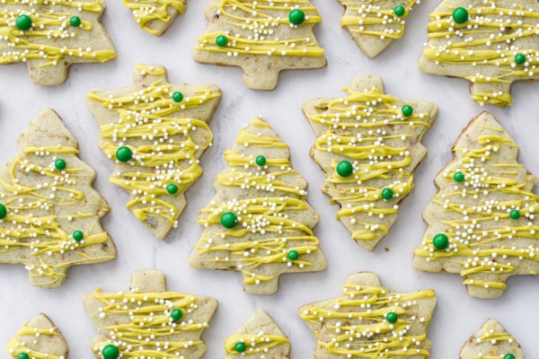 Pistachio Cutout Sugar Cookies