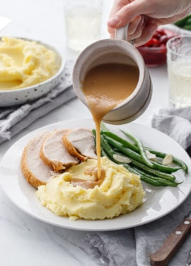 How to make Perfect Gravy from a Brined Turkey