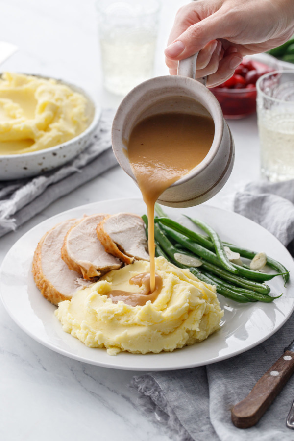 How to make Perfect Gravy with a Brined Turkey