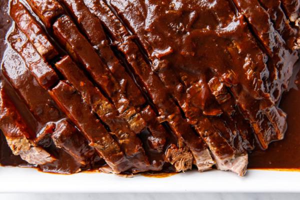 Slow Cooker Hanukkah Beef Brisket