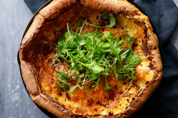 Savory Chorizo & Manchego Dutch Baby