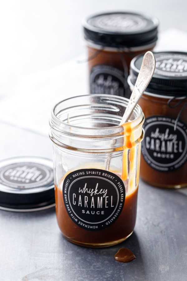 Whiskey Caramel Sauce | Love and Olive Oil