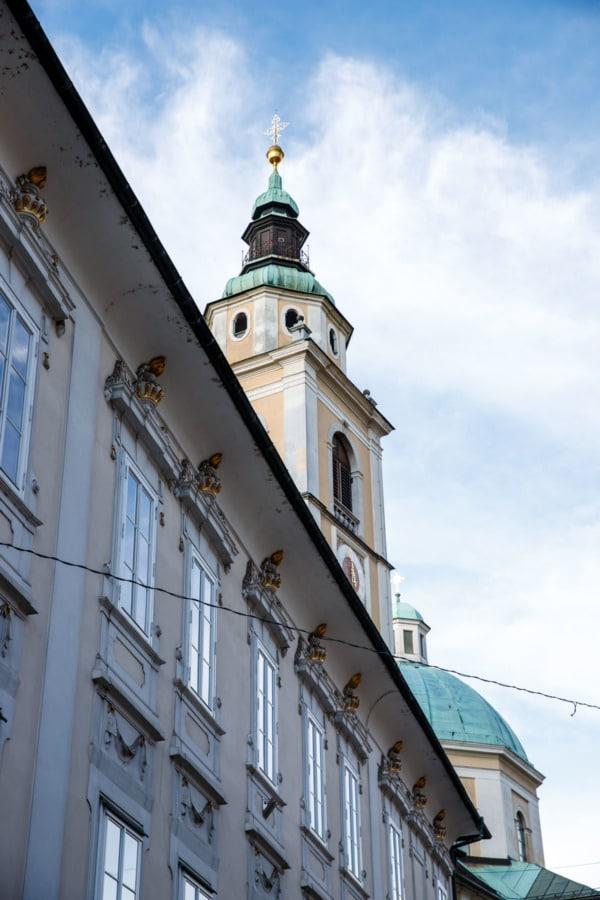 Ljubljana Cathedral, Slovenia