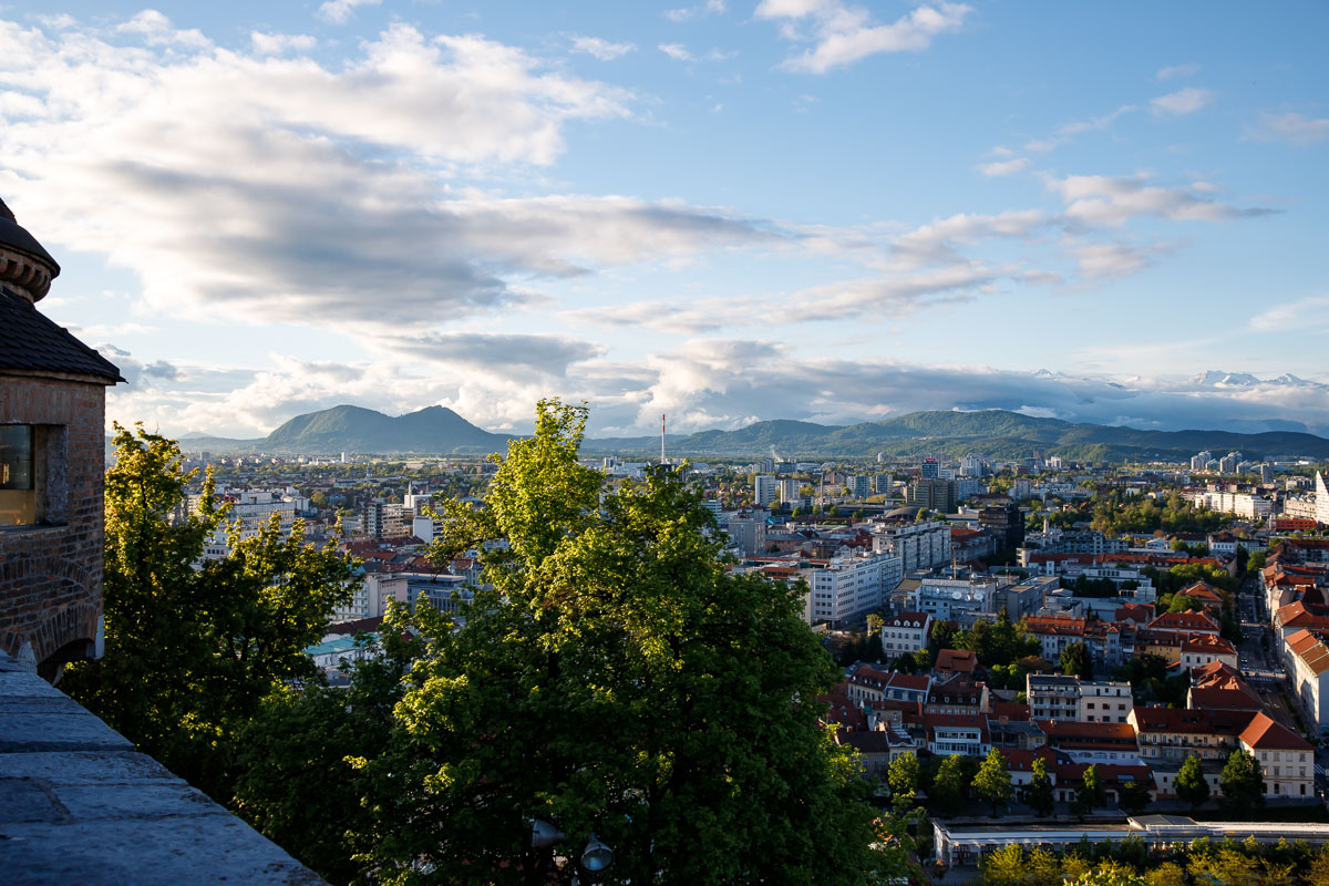 The Charming City of Ljubljana, Slovenia