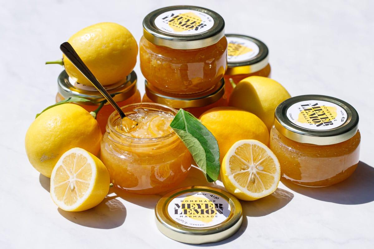 Old-Fashioned Meyer Lemon Marmalade