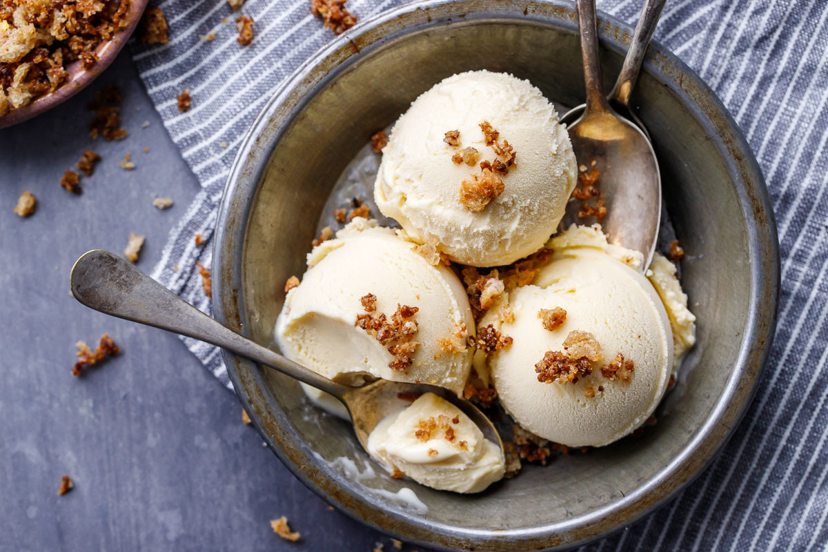 Sourdough Ice Cream