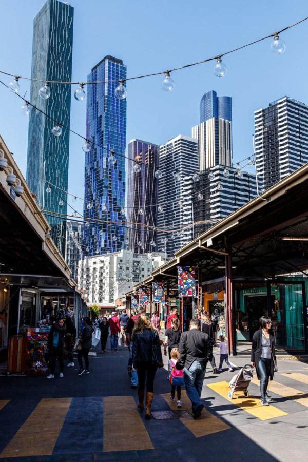 String Bean Alley in Melbourne, Australia