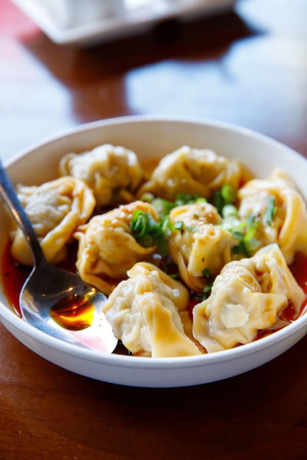 Steamed dumplings from HuTong dumpling house, Melbourne, Australia