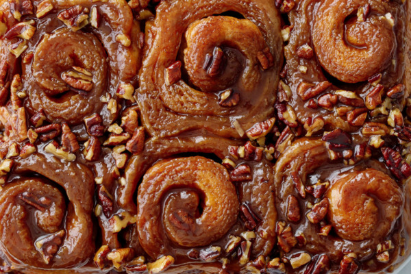 Hot Buttered Rum Sticky Buns