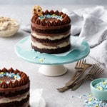 Mini Chocolate & Cookie Dough Naked Layer Cakes