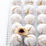 Stuffed Cherry Amaretti Cookies