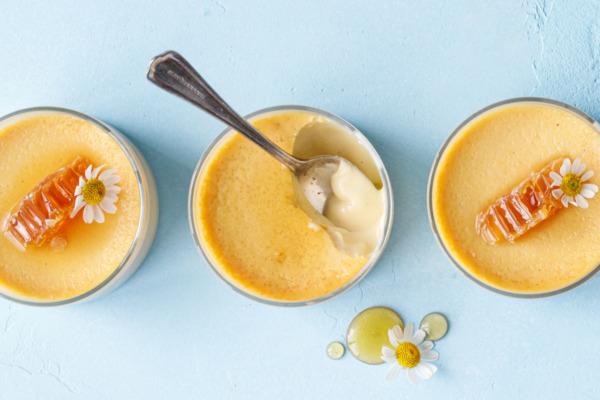 Honey Vanilla Pots de Crème